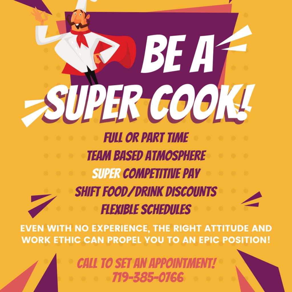 Super Hire Cook